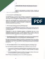 DSWD SAP-ESP ReliefAgad FAQs