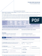 Application Form VAF5 - EEA Family Permit Form