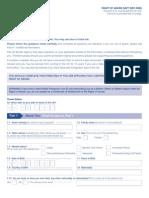 Application Form VAF7 - Right of Abode Form