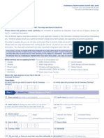 Application Form VAF8A - Overseas Territories Form