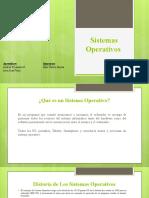 Sistemas Operativos Andrea