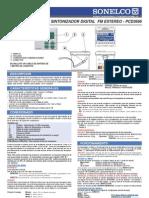 PCD3666 Sintonizador FM