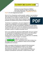 PRESENTATION DE EASYMATRICE