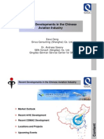 Presentation on China s Aviation Industry April 2010 BavAIRia