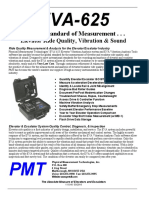 PMT EVA-625 Elevator vibration tester