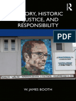 Memory, historical injustice and responsability