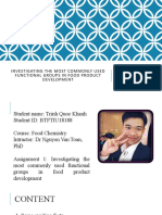 Assignment 1 - Food Chemistry - Trinh Quoc Khanh.pptx
