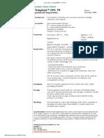 Thioplast®EPS - EPS 70