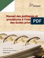 PrivateScbbhools_PolicyManualFr