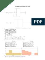 AP Statistics Semester Exam Study Guide