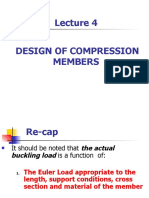 Lecture 4-Design of  Compression Members New.pptx