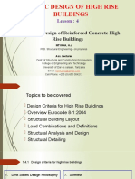 Lecture 4-Code Based Design of Reinforced Concrete High Rise Buildings-1