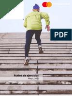 Rutina de ejercicios en casa 2020