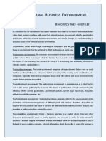 Baccouche-ines-The External Business Environment