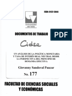 Documento de Trabajo No.177