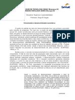 Unidade 1, Artigo Crescimento e Desenvolvimento