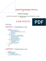 Object Oriented Programming with Java by Debasis Samanta