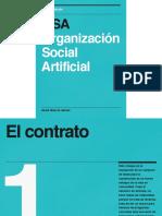 OSA Organización Social Artificial