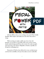 """""""Pedal Power With Pattie"""" Bike Skills Class for Teen Girls and Women"""