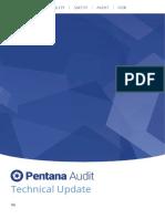 Ideagen Pentana Audit v6.0 Technical Update