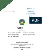 makalah kualifikasi dan kalibrasi klp 2