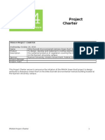 Pmbok Project Charter Template Project Management Accountability