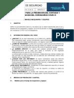 PSC-005 PROTOCOLO PARA MANEJO DE MAQUINARIA Y EQUIPOS (En revisión)