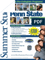 Summer Study at Penn State Brochure 2011