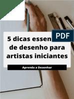 5 Dicas Essenciais de Desenho para Artistas Iniciantes.pdf