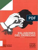 Eslabones del Derecho (2016) Diego López Medina