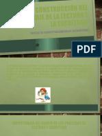 CONSTRUCCIÓN DEL APRENDIZAJE DE LA LECTURA Y LA