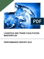 Logistics and Trade Facilitation Masterplan Performance Report 2016