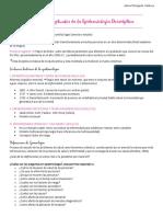 1. Bases conceptuales de la Epidemiologia Descriptiva