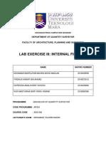 LAB EXERCISE III_ FINISHES