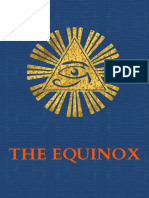 "The Equinox vol III no 1 (""The Blue Equinox"")"