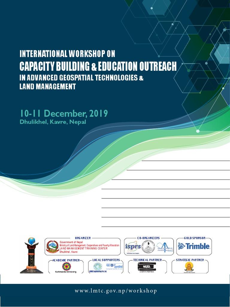 Proceeding of International Workshop 40, LMTC   Geomatics ...