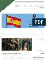 Rangos del Ejército de Tierra – ADS – Blog Oficial de Arenal de Sevilla