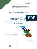 Atelier  CAO  TP1  L1