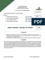 Prac 5 - Ondas sonoras y análisis de fourier