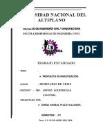 Trabajo de Seminario de Tesis de Jorge Anibal Pilco Villagra
