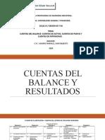 CUENTAS DEL BALANCE Y RESULTADOS