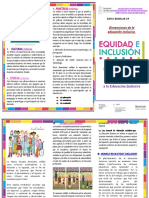 TRÍPTICO Modelo Educativo Inclusivo 2019-2020 2