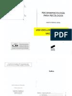 Libro Muñoz y Vazquez (2009) Psicofarmacologia Para Psicólogos