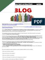 26 règles d'or pour tenir un blog d'entreprise