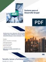 Factores para el Desarrollo Grupal