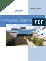 Proceso de LIMPIEZA Y DESINFECCIÓN DE VEHÍCULO DE TRASPORTE DE MUESTRAS COVID-19 CORREGIDO.docx