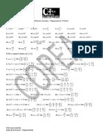 Ficha de exercícios - Trigonometria