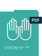 Human Rights Cases 2007