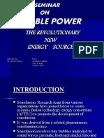 BUBBLE POWER.ppt