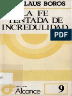 BOROS, Ladislaus - La Fe Tentada de Incredulidad